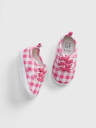 c455afcbe3e Gap Baby Print Canvas Sneakers
