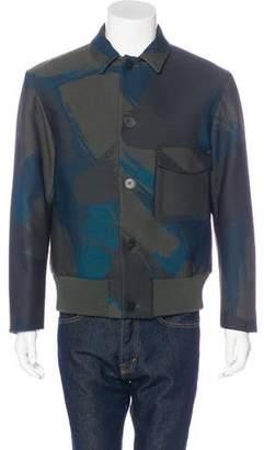 Oamc Wool-Blend Jacquard Jacket w/ Tags