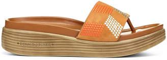 Donald J Pliner FIFI19SP, Embellished Kid Suede Platform Sandal