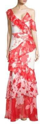 Alice + Olivia Olympia Floral Dress