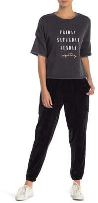 Betsey Johnson Velvet Sweatpants