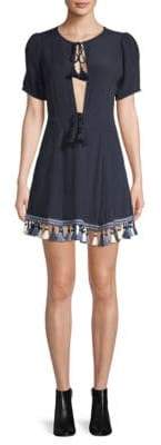 Tularosa Tallulah Tassel A-Line Dress