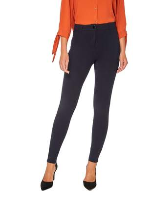 Dorothy Perkins Navy One Button Treggings