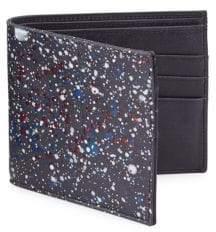 Maison Margiela Splatter Paint Leather Bifold Wallet