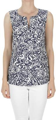 Aryeh Sleeveless Printed Top
