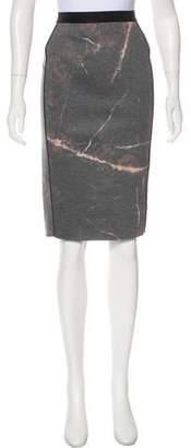 By Malene Birger Printed Knee-Length Skirt