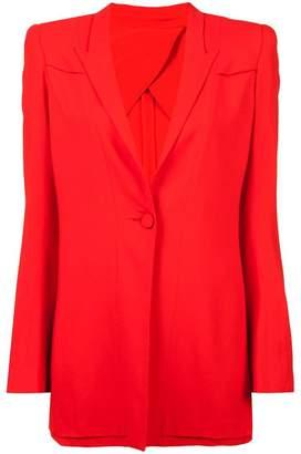 Diane von Furstenberg layered blazer