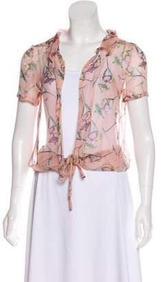 Chanel Silk Sundae Top