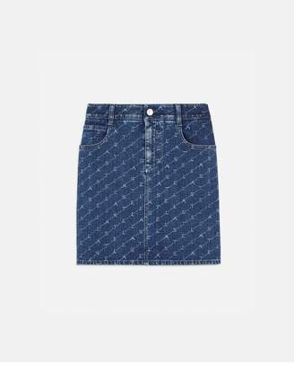 Stella McCartney Denim Mini Skirt