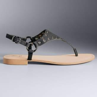 Vera Wang Simply Vera Fireworks Women's Sandals