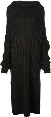 UMA WANG long roll neck jumper