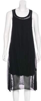 Eileen Fisher Mesh Midi Dress