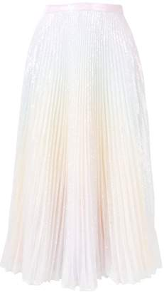 Marco De Vincenzo pleated rainbow skirt