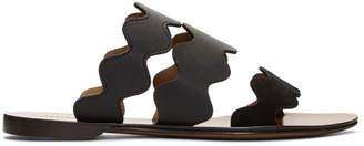 Chloé Black Lauren Sandals