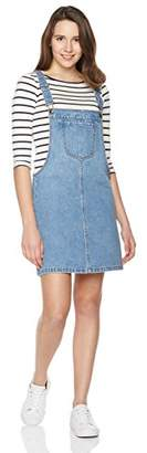 Parker Lily Women's Classic Adjustable Strap Denim Overall Dress OV1703