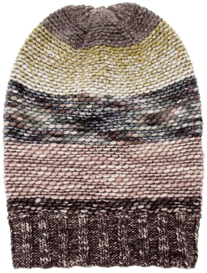 Missoni slouch fit beanie
