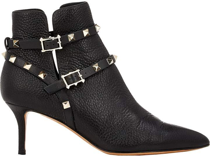 Valentino Garavani Women's Rockstud Ankle Booties