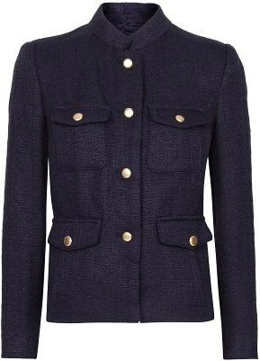 MANGO Field Bouclé Jacket