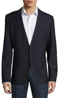 HUGO BOSS Aerins Textured Wool Jacket