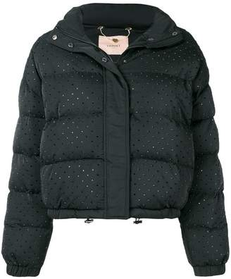 Twin-Set cropped padded jacket