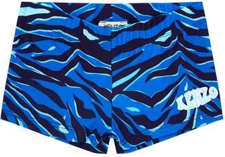 Kenzo Logo Wave Swim Shorts