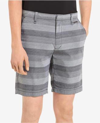 "Calvin Klein Men's 9"" Flat-Front Shorts"