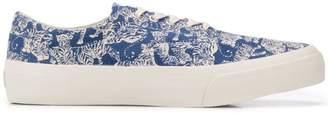 YMC tiger print sneakers