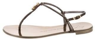 Giuseppe Zanotti Embellished Slingback Sandals