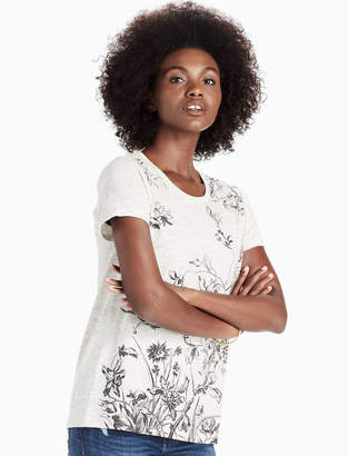 Lucky Brand ANTIQUE FLORAL TEE