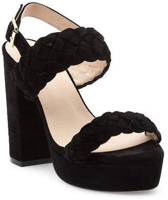Raye Haven Braided Platform Sandal