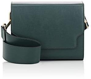 Va Va MARGE SHERWOOD Women's Vava Leather Shoulder Bag - Green
