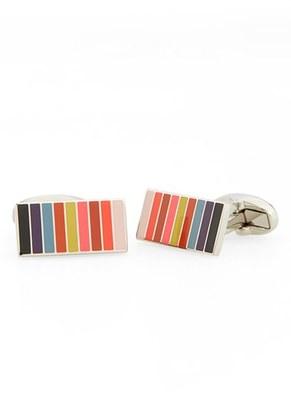 Men's Paul Smith Mini Stripe Cuff Links $150 thestylecure.com