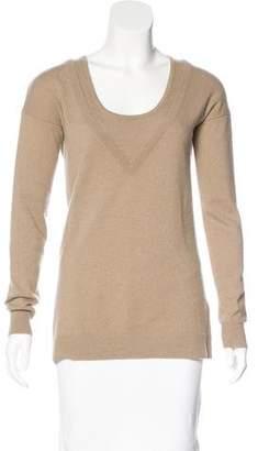 Autumn Cashmere Scoop Neck Cashmere Sweater