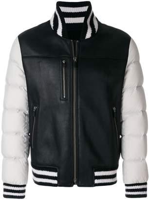 Liska zip up bomber jacket