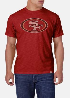 '47 'San Francisco 49ers - Scrum' Slub Cotton T-Shirt
