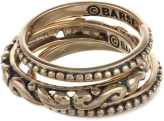 Barse Basics Triple Stackable Ring