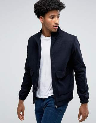 Bellfield Wool Blend Harrington