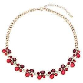 Design Lab Crystal Collar Necklace