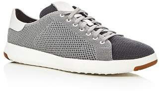 Cole Haan Grandpro Tennis Stitch Lite Knit Lace Up Sneakers