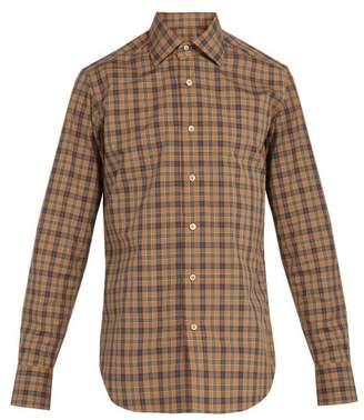 BEIGE The Gigi - Plaid Cotton Shirt - Mens Multi