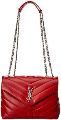 Saint Laurent Small Loulou Matelasse Y Leather Shoulder Bag