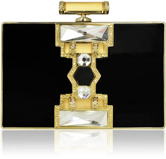 "Judith Leiber Couture Ridged Rectangle Clutch ""Jazz Age"""