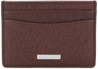 HUGO BOSS logo plaque cardholder