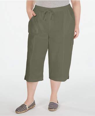 Karen Scott Plus Size Cotton Edna Capris