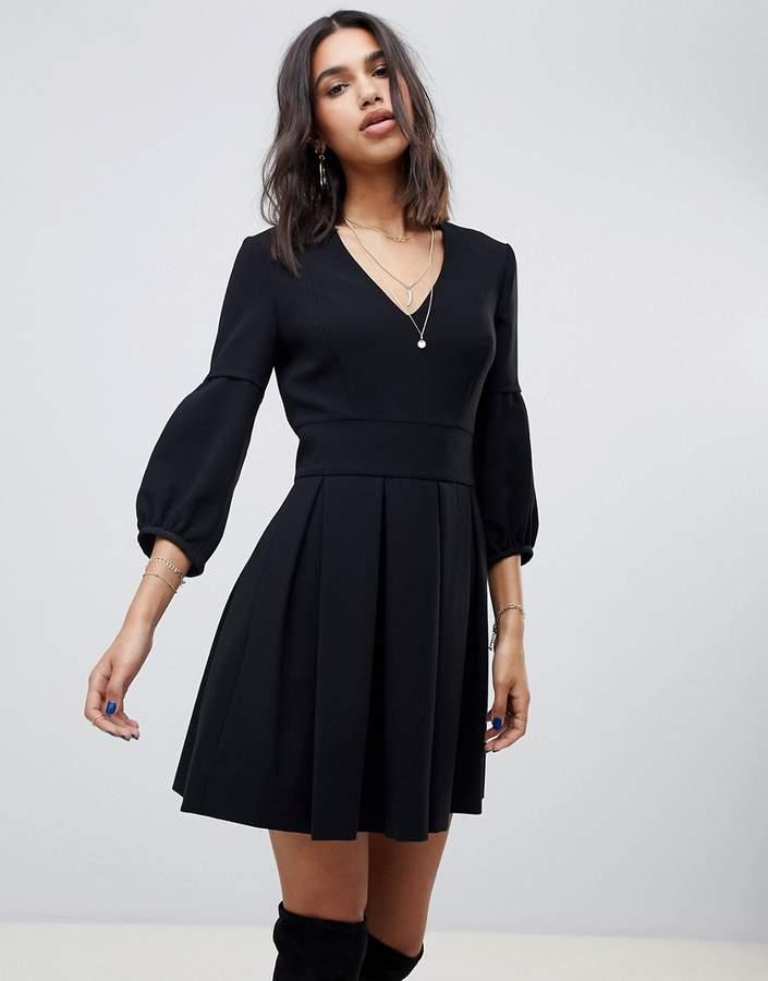 structured mini dress