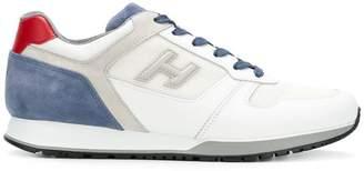 Hogan colour block logo sneakers