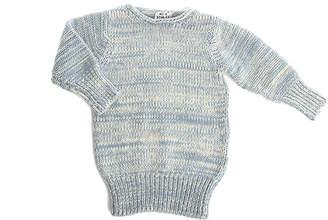 Acne Studios Mini Shore Woven Sweater Dress