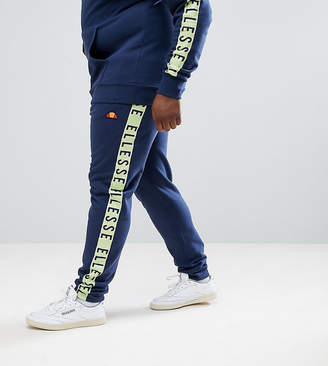 Ellesse Joggers With Taping In Navy