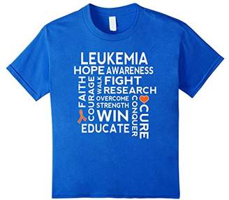 Leukemia Awareness Walk Tee Hope Cure T-shirt