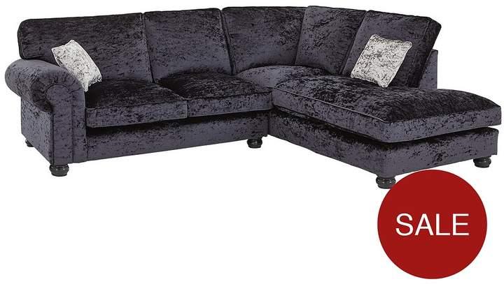 Buy Scarpa Fabric Standard Back Right Hand Corner Chaise Sofa!